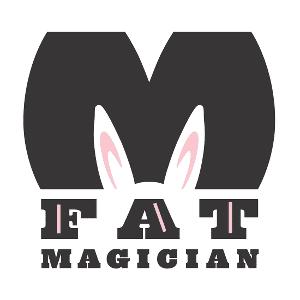 FatMAGICIAN.logo.BUNNY.300X300
